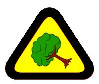 Tree Warning Triangle